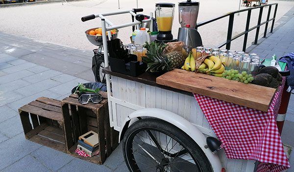 Smoothie-bakfiets
